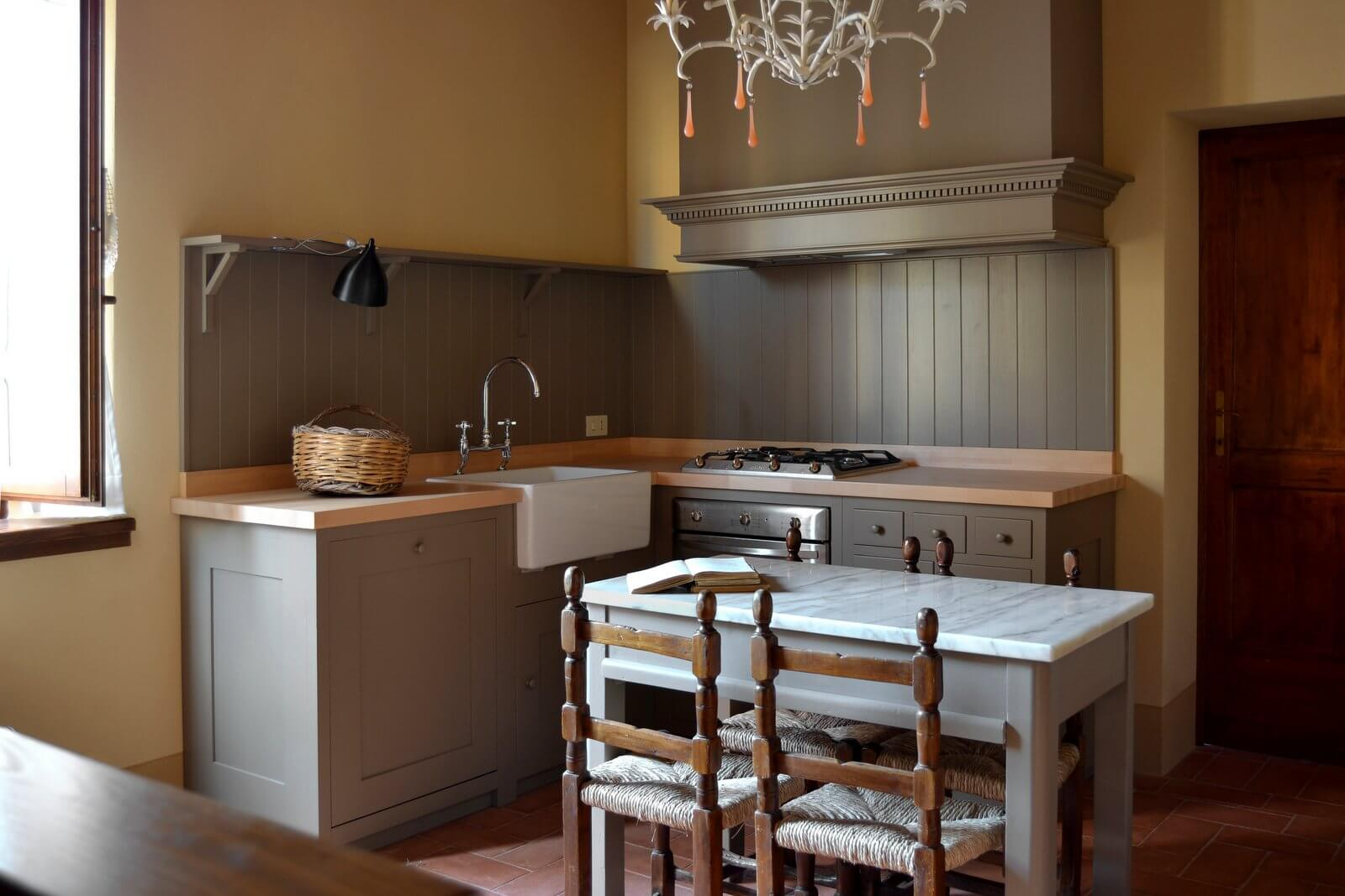La cucina in stile shaker for Casa stile shaker